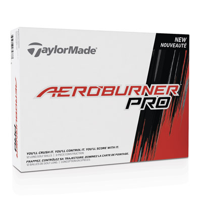 TaylorMade AeroBurner Pro Golf Ball Box