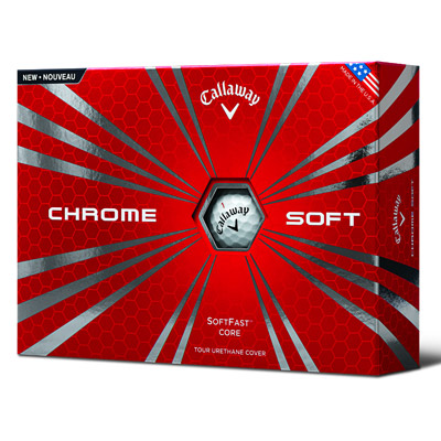 Callaway Chrome Soft Golf Ball Box