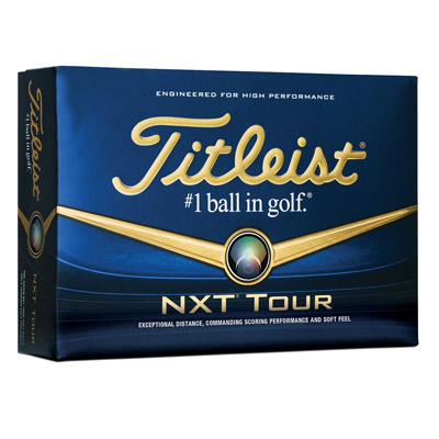 Titleist NXT Tour Golf Ball Box