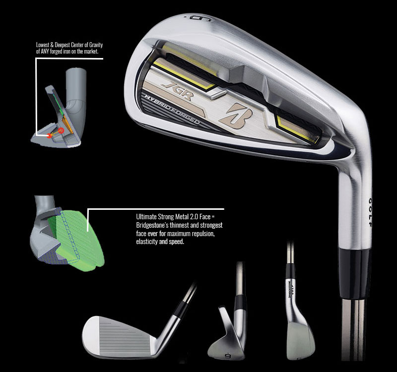 Bridgestone JGR Irons Comp