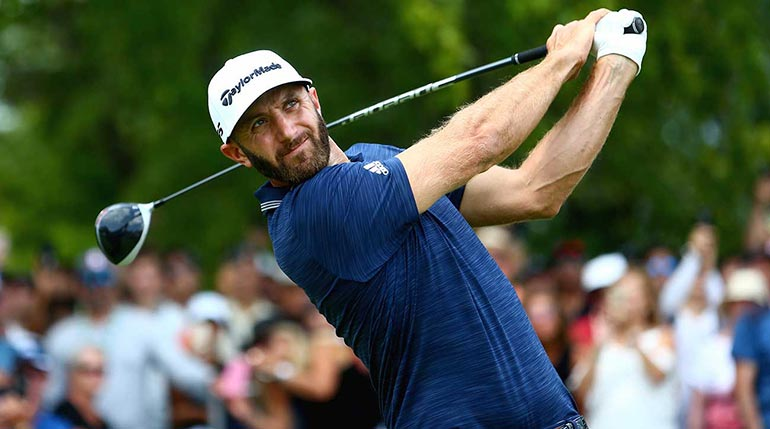 Dustin Johnson is a favorite to win the PGA Championship