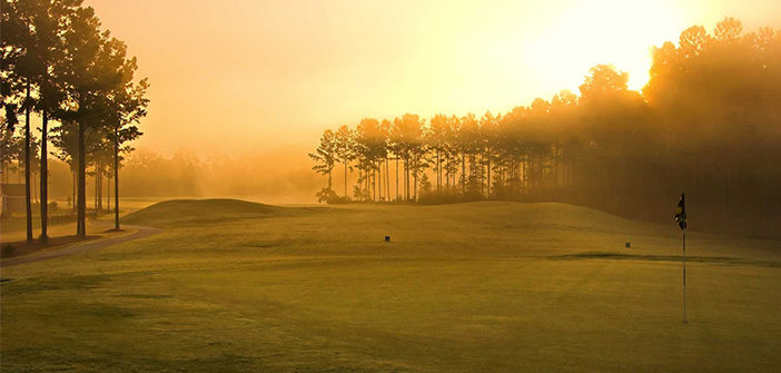 golf-sunrise
