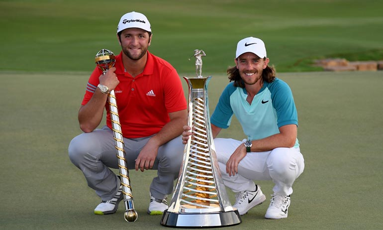 Jon Rahm and Tommy Fleetwood are two young stars on the PGA