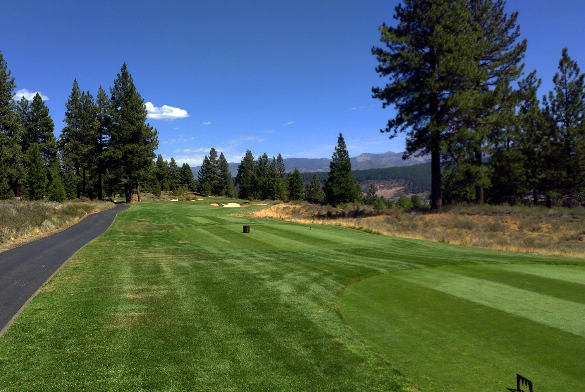 Old Greenwood Golf Course, hole 17 Truckee