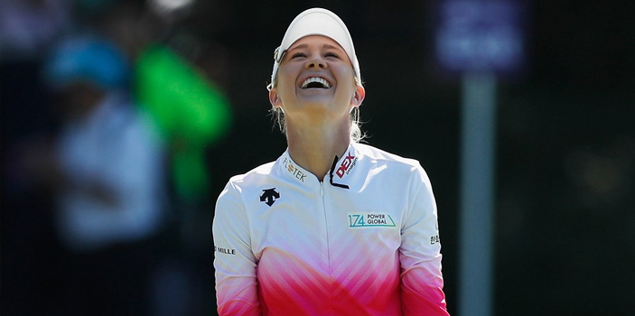 Nelly Korda LPGA Swinging Skirts