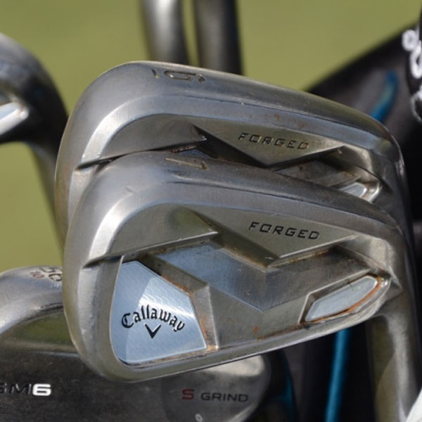 Xander Schauffele plays new Callaway Prototype Forged Irons