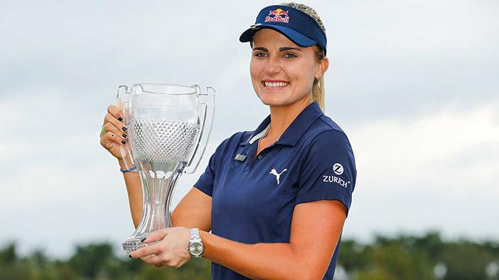 Lexi Thompson wins CME Group Tour Championship