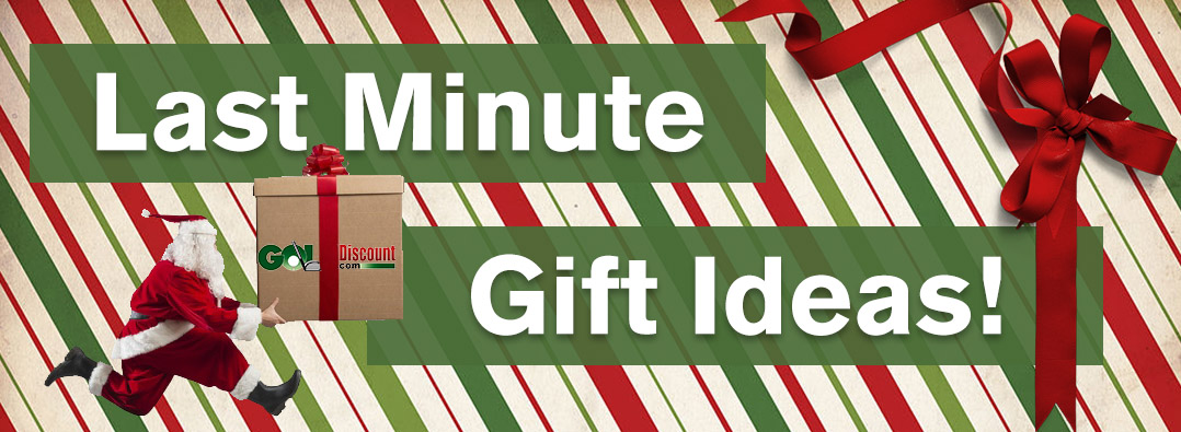 Last Minute Golf Gift Ideas at GolfDiscount.com