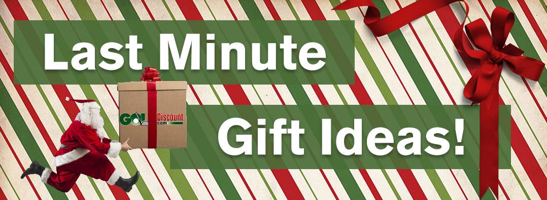Last Minute Golf Gift Ideas at GolfDiscount.com