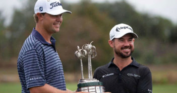 Patton Kizzire and Brian Harman win the QBE Shootout