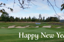 Washington National Hole 18 - Happy New Year!