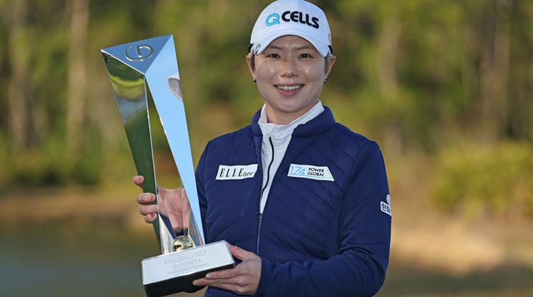Eun-Hee Ji wins the Diamond Resorts Tournament of Champions
