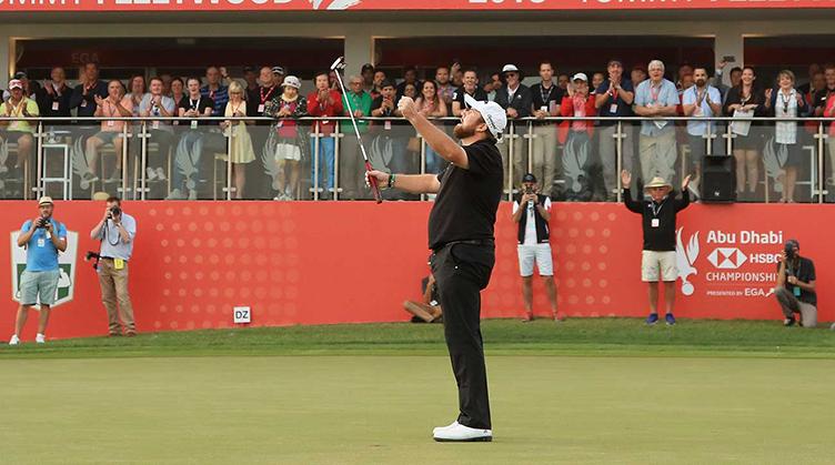 Shane Lowry wins Abu Dhabi HSBC Championship