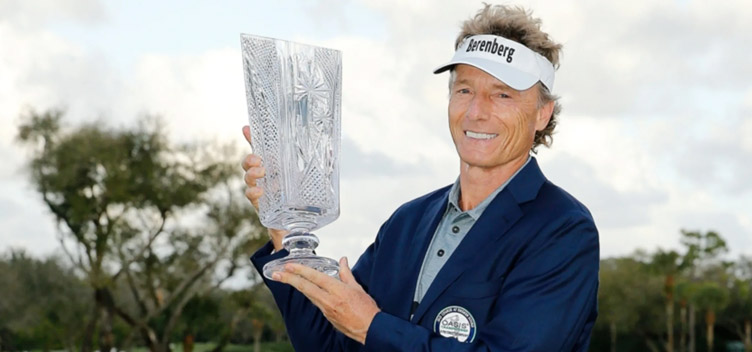 Bernhard Langer wins his 39th Champions Tour event