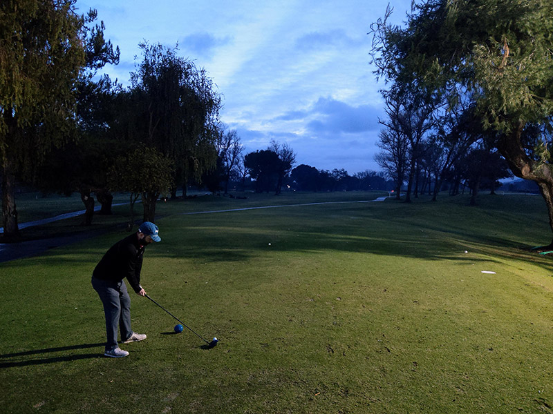 First off at Westlake Golf Course