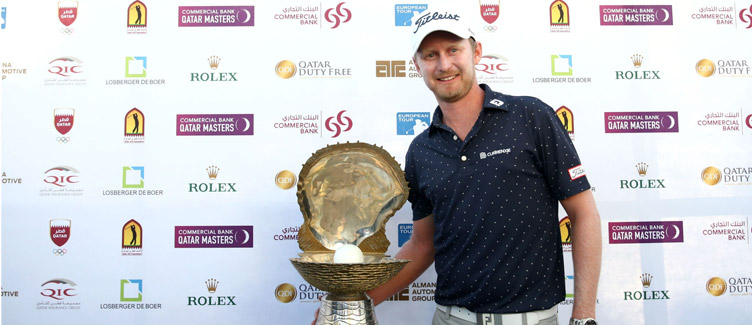 Justin Harding Wins Qatar Masters