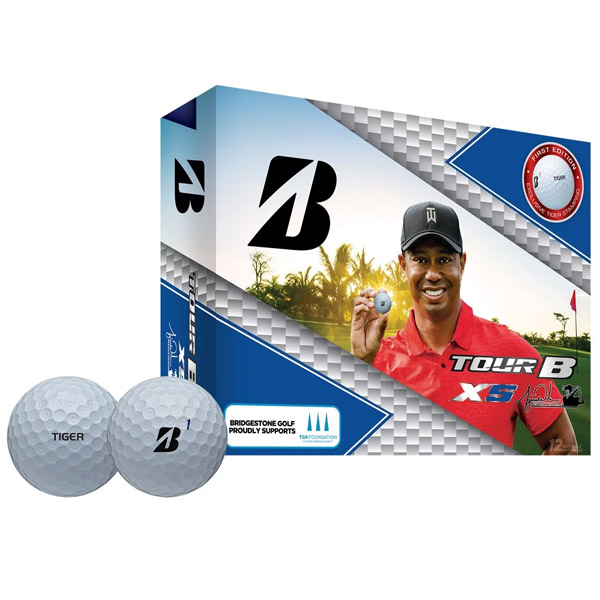 Bridgestone Limited Edition Tiger Woods Tour B XS Golf Balls