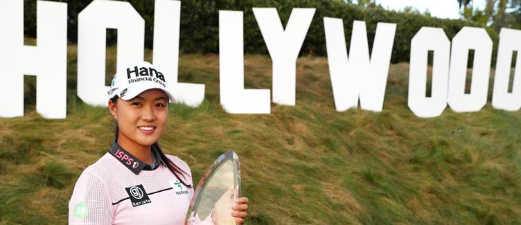 Minjee Lee, LA Open Champion
