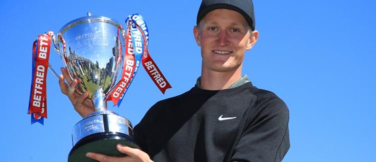 Marcus Kinhult 2019 British Masters Champion