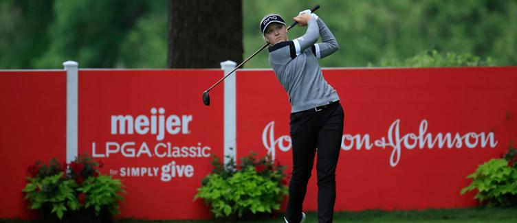 Brooke Henderson Meijer LPGA Classic Champion