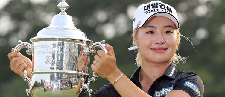 Jeongeun Lee6 U.S. Women's Open Champion