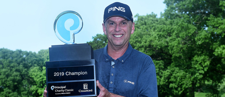 Kevin Sutherland Principal Charity Classic Champion