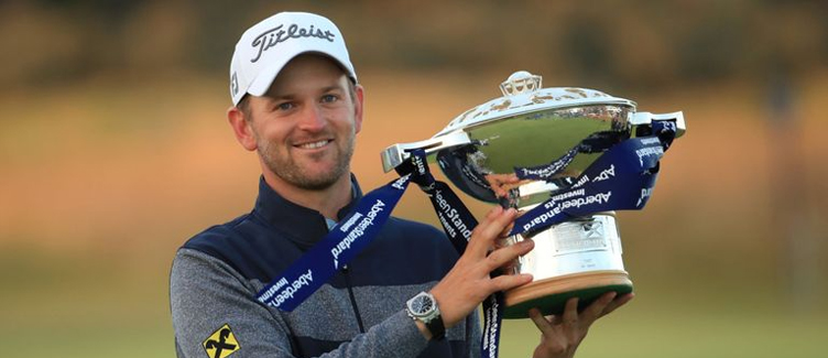 Bernd Wiesberger Scottish Open Champion