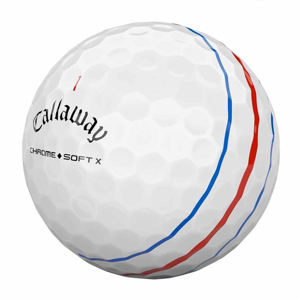 Callaway Chrome Soft X Triple Track Golf Ball