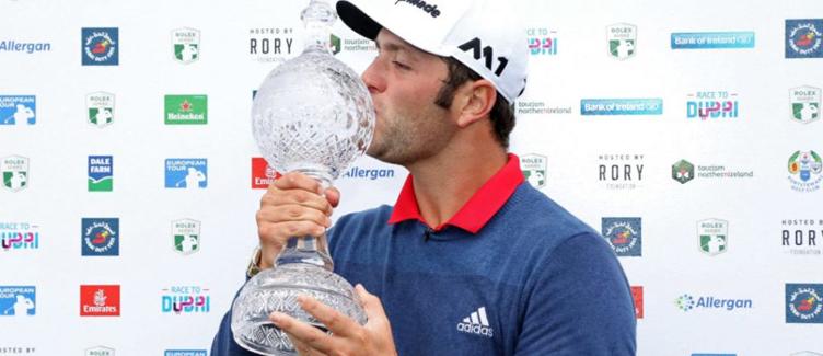 Jon Rahm Dubai Duty Free Irish Open Champion