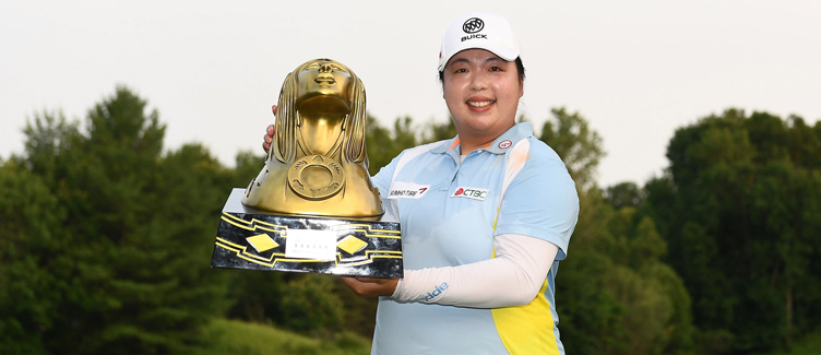 Shanshan Feng returns to winner's circle at Thornberry Creek LPGA Classic