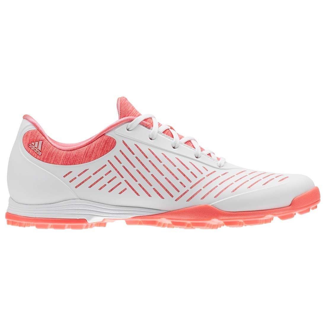 Adidas Women's AdiPure Sport 2.0 Golf Shoes White/Red Zest   eBay