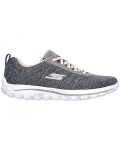 Skechers Women's GO GOLF Walk Sport Golf Shoes Grey/Pink