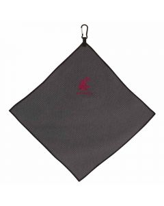"Team Effort NCAA 15"" X 15"" Grey Microfiber Towel"