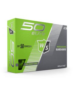 Wilson Fifty Elite Green Golf Balls