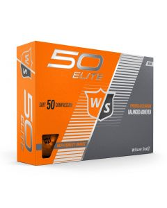 Wilson Fifty Elite Orange Golf Balls