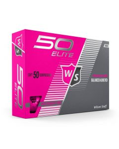 Wilson Fifty Elite Pink Golf Balls