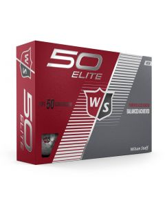 Wilson Fifty Elite Golf Balls