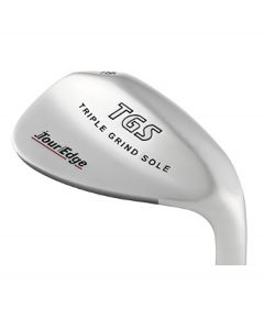 Tour Edge TGS Triple Grind Sole Stainless Wedge