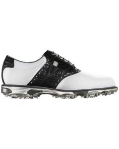 FootJoy DryJoys Tour Golf Shoes White/Black Croc