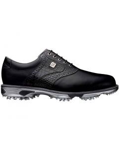FootJoy DryJoys Tour Golf Shoes Black Crocodile
