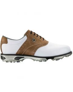FootJoy DryJoys Tour Golf Shoes White/Bomber Taupe
