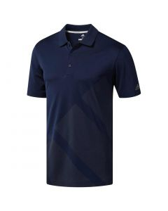 Adidas 2018 Bold 3-Stripes Polo Collegiate Navy