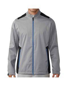 Adidas 2017 ClimaProof Heather Rain Jacket Grey/Black