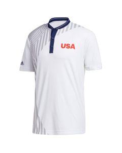 Adidas 2021 Usa Olympic Friday Polo_usa