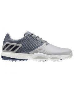 Adidas AdiPower 4orged Golf Shoes Grey/Navy