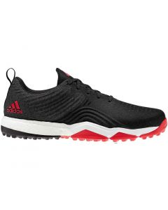 Adidas AdiPower 4orged S Golf Shoes Black/Red