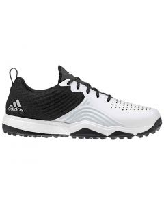 Adidas AdiPower 4orged S Golf Shoes Black/White