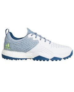 Adidas AdiPower 4orged S Golf Shoes White/Blue