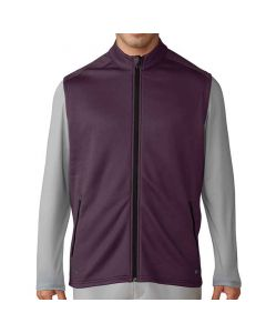 Adidas ClimaHeat Hybrid Full Zip Vest Red Night