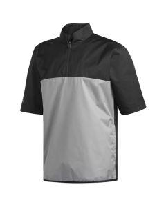 Adidas ClimaStorm Provisional Short Sleeve Rain Pullover Black